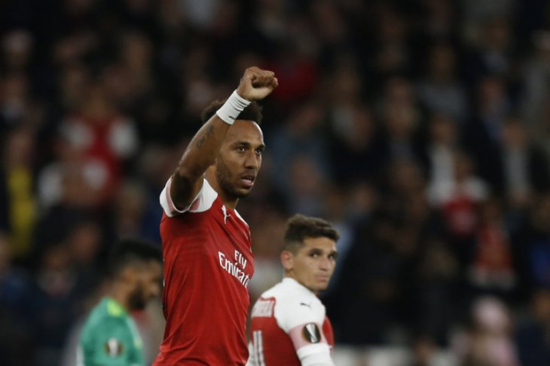 Hujan gol tandai laga Arsenal kontra  Vorskla