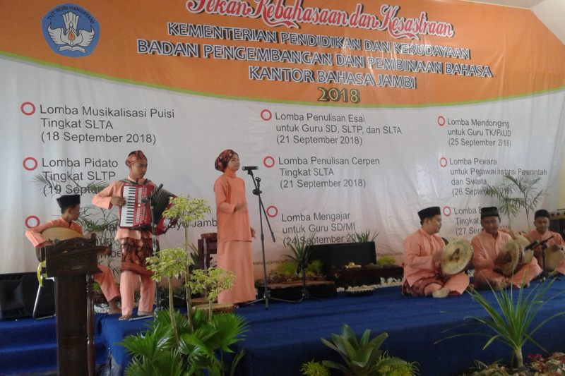 Grup kesenian SMPN 4 Jambi peroleh apresiasi pimpinan DPR