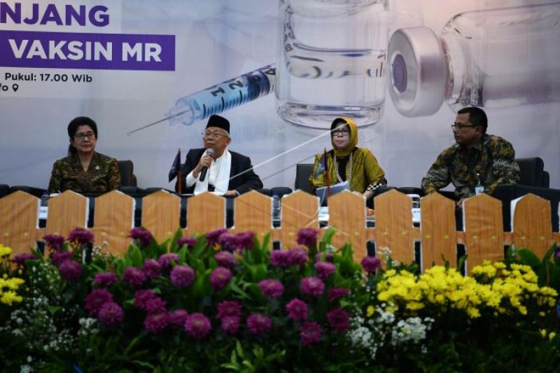 Diskusi fatwa vaksin MR