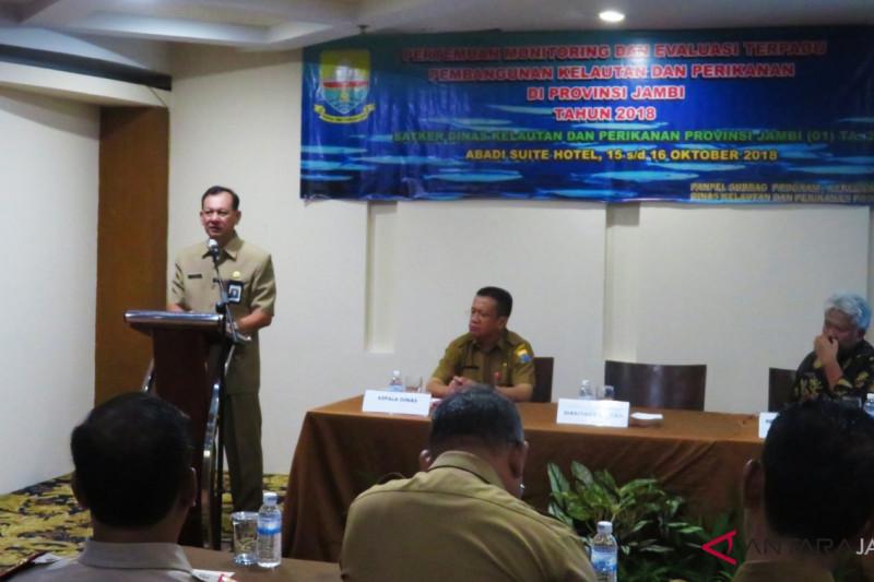 Pemprov Jambi evaluasi pembangunan kelautan dan perikanan