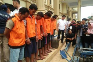 Polda Jambi tangkap sembilan pelaku penambang minyak ilegal