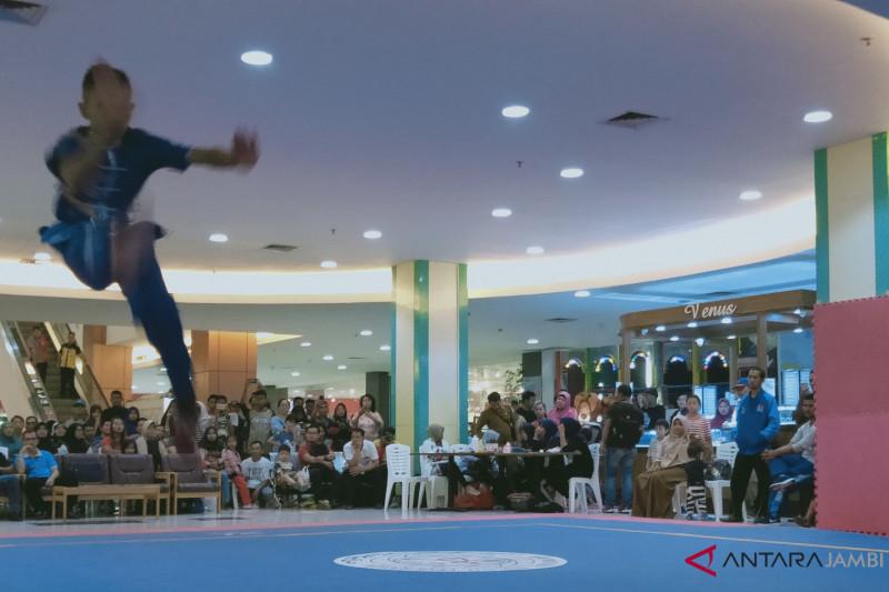 46 atlet Wushu melaju final Porprov Jambi 2018