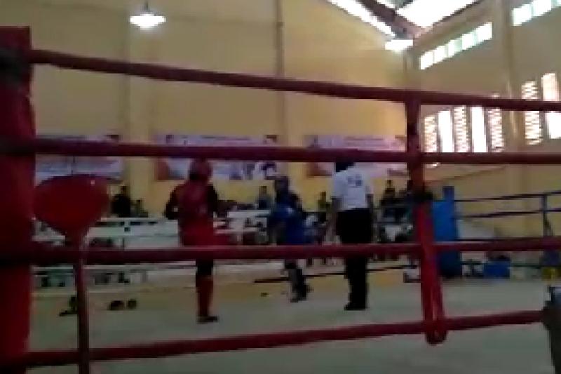 Kota Jambi juara umum cabang muaythai Porprov