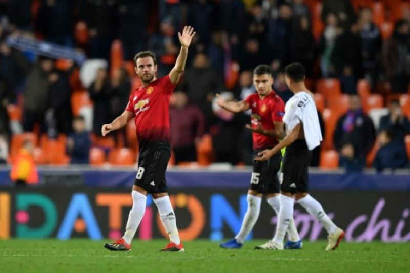 Juventus jawara Manchester United kedua meski sama-sama kalah