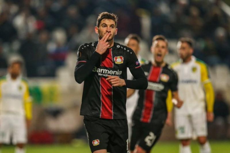 Leverkusen pesta gol 5-1 di markas AEK Larnaca