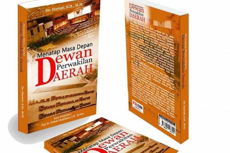 Dr Hartati kupas peran DPD melalui buku