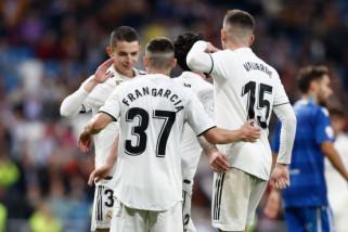 Madrid gasak Melilla 6-1 di 32 besar Piala Raja
