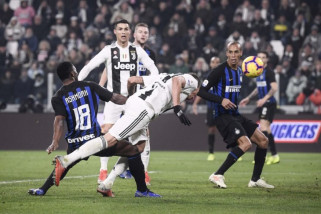 Gol Mandzukic antar Juve tundukkan Inter