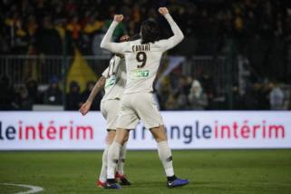 PSG menang 2-1 atas Orleans di Piala Liga Prancis