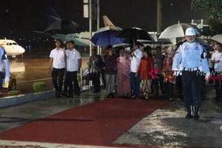 Presiden Jokowi tiba di Jambi untuk kunjungan kerja