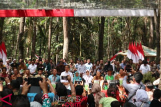 Jokowi sebut penurunan elektabilitas terkait harga komoditas