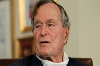 Mantan Presiden AS Gorge HW Bush meninggal dunia