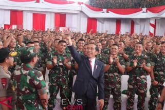 DI Jambi Presiden Jokowi umumkan kenaikan tunjangan Babinsa