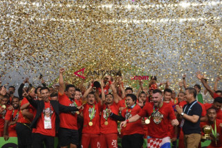 Persija  juara Liga 1 tahun 2018