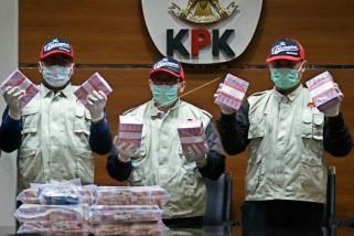 KPK beberkan status uang Rp7 miliar di kantor KONI