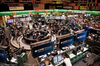 Emas naik ditopang penurunan ekuitas dan dolar AS