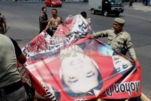 Satpol PP Madiun Berencana Tertibkan Atribut Kampanye