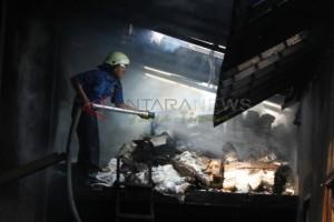 Kebakaran Gudang Plastik
