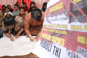 Petisi Dukungan Capres Pro-TKI