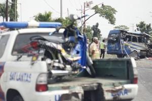 Pengendara Motor Tewas Terlindas Truk Tronton di Ngawi