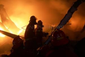 Kebakaran Gudang Kopra