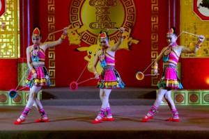 Seni Akrobat China Jelang Imlek