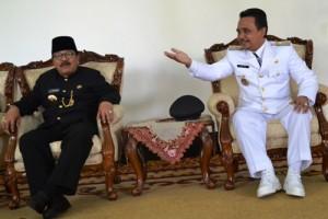 Bupati Lumajang dan Gubernur Jatim