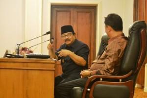 Pertemuan Pakde Karwo-Banggar DPR RI