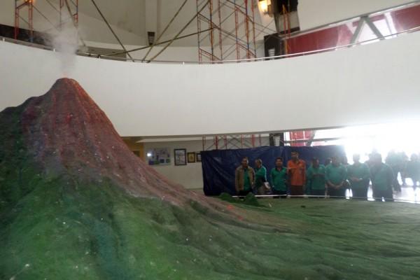 Menyaksikan Dahsyatnya Erupsi Merapi di Museum