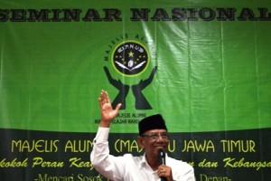 Hasyim Muzadi di Seminar IPNU