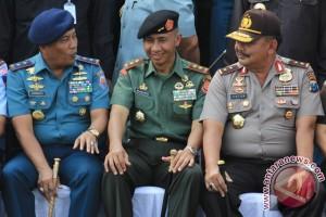 Apel Gabungan  TNI Polri