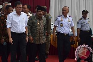 Kunjungan Kerja Menteri Perhubungan Di Probolinggo
