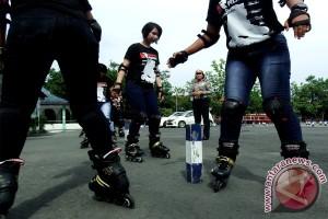Polwan Sepatu Roda