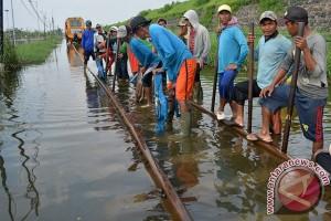 Delapan Titik Jalur Kereta di Daop Madiun Rawan Bencana