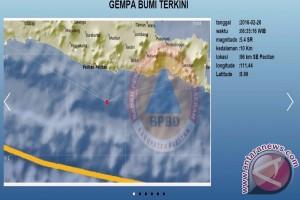 Gempa 5,0 SR Guncang Pacitan