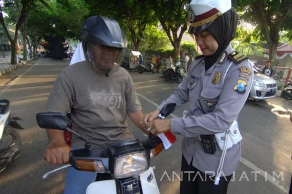 Polisi Gugah Kesadaran Tertib Lalu Lintas dengan
