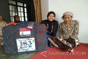 Calhaj Tertua di Jember Naik Haji Tanpa Dampingan Keluarga