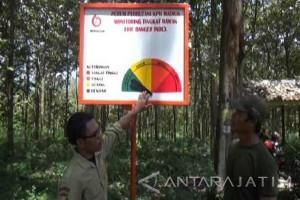 KPH Madiun Pasang Alat Indikator Kebakaran Hutan