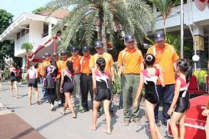 Wali Kota Kediri Lepas 12 Atlet ke PON Jabar