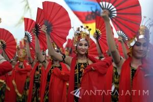 Hadrah Kuntulan Semarakkan Festival Gandrung Sewu