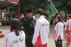 154 Atlet Kota Kediri Berlomba pada Popda Jatim