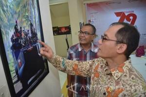 Legislator Bambang Haryo Kunjungi Antara Jatim (Video)