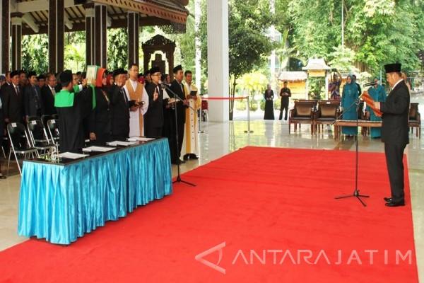 841 Pejabat Struktural Pemkab Sidoarjo Dilantik