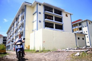 Pemkot Surabaya Siap Bangun Dua Unit Rusunawasa