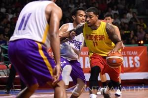 Timnas Basket VS CLS Knights