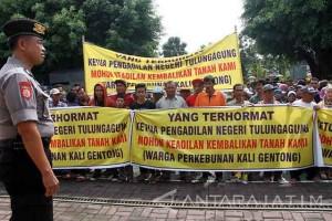 Demo Sengketa Perrkebunan Kaligentong