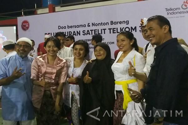 Satelit Telkom 3S Sukses Berkat Doa Masyarakat (Video)