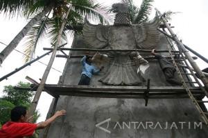 Pembangunan Monumen Garuda Pancasila