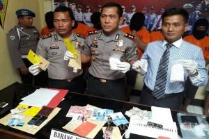 Polisi Kediri Tahan Tujuh Tersangka Kasus Narkoba