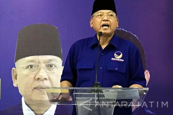 Ketua DPD NasDem Kota Malang Diberhentikan karena Pilkada